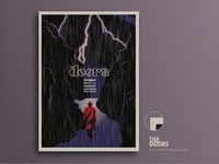 THE DOORS gig poster