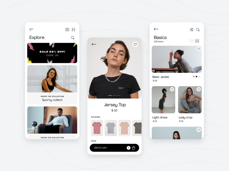 Fashion E-Commerce App Concept by Pineapple Studio ecommerce app design appdesign fashion app fashion dailyui daily ui interface design graphic design interfacedesign interface mobile branding app interaction ux design uxui uiux ui