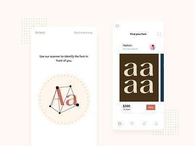 Typography app (2) website concept fonts typographies typography app website web interaction motion design motion ux animation design uxui uiux ui
