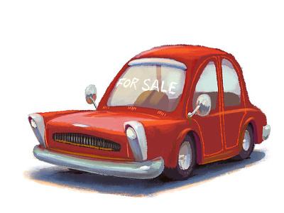 Car For Sale concept art animation