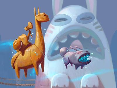 Super Same Concept game concept art