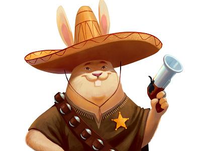Sherif character design game art