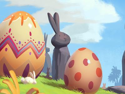 Easter Bunny Island A