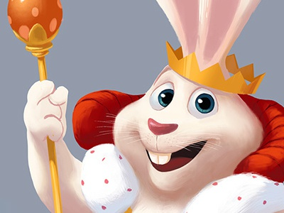 easter bunny king