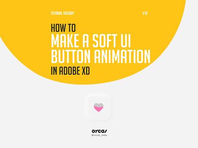 💖 Soft UI Button Animation   Adobe XD adobe xd soft ui uiux tutorial uianimation uidesign neumorphism ui neumorphism