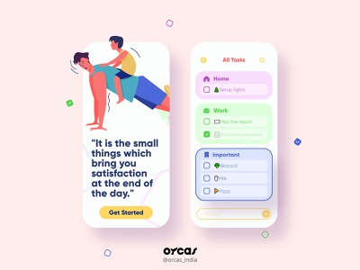📑Task Management App   UI Screen design ui  ux app illustration uxdesign app design task management ui screen app ui design uiux uidesign ui app ui task app
