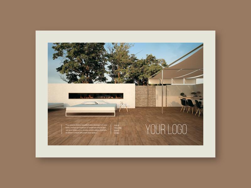 Clean Interior Design Brochure portfolio editorial magazine catalog interior design colorful design brochure minimal modern template
