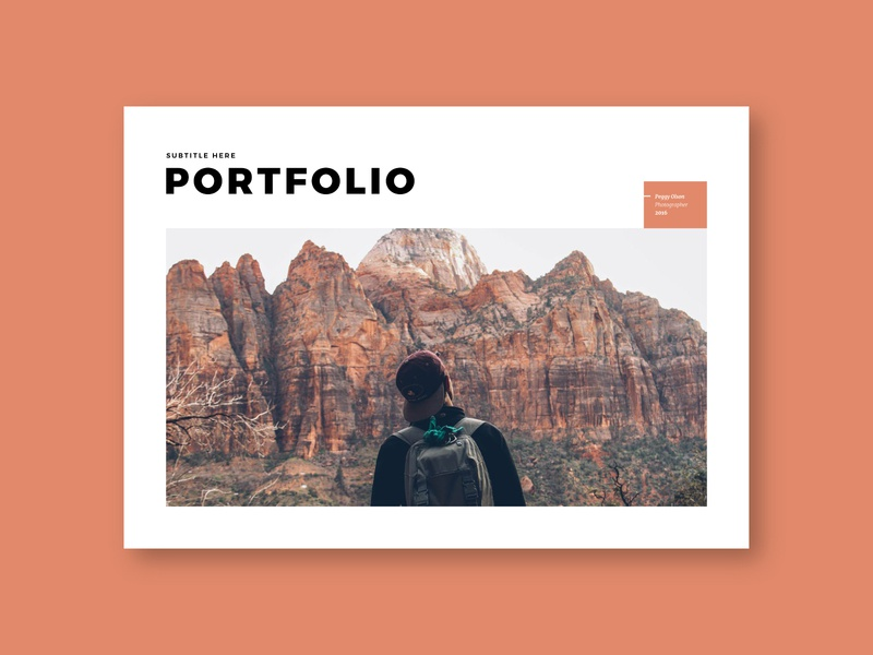 Minimal Fashion Photography Portfolio 2 colorful photography portfolio design print portfolio design brochure minimal download