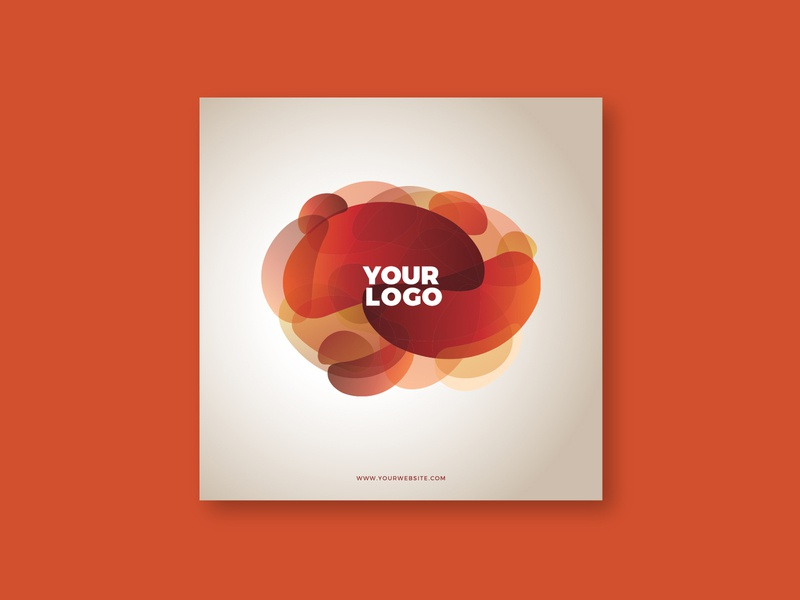 Cool Abstract Nature Brochure magazine print cool design colorful brochure minimal pattern template