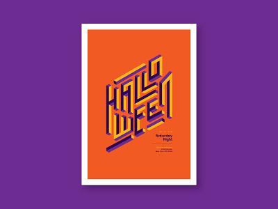 Modern Halloween Poster colorful minimal download template poster design halloween flyer poster halloween