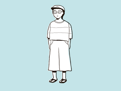Yuli's self-portrait