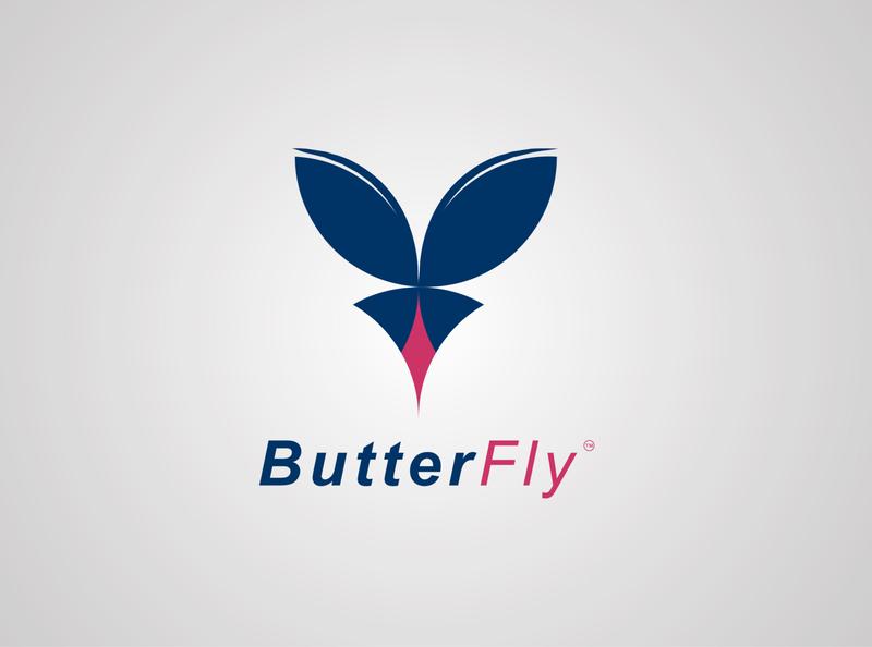 Modern Butterfly Logo minimalist logo flat logo design creative logo logo design logo logos logo designer creative logo design creative design modern logos modern butterfly logo modern logo