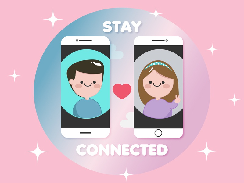 Stay connected with your loved ones.