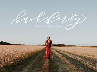 BackForty Photography Logo