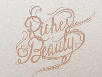 Riches And Beauty Album Art