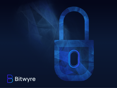 Bitwyre lock illustration data high tech technology variants encryption protection dark texture cryptocurrency exchange bitwyre style crypto blockchain trading lock security brand illustration ui web illustration