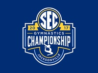 SEC 2017 Gymnastic Championship Logo