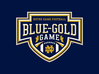 Notre Dame Blue Gold Game
