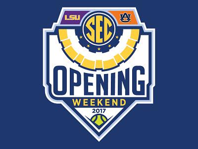SEC 2017 Opening Weekend weekend opening baseball sec
