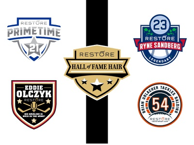 RESTORE Hair - Hall of Fame Haie logo sports hall hair