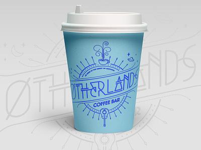 Otherlands Cup branding illustration