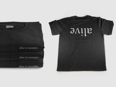 Alive Tee memphis t-shirt tee
