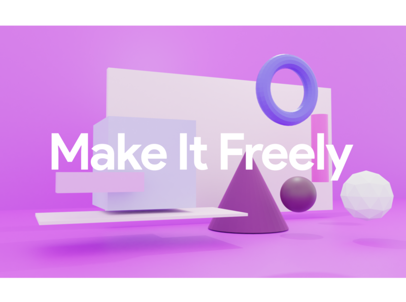 Make It Freely 3dcg blender