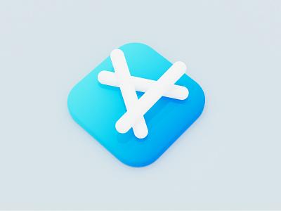 Day6 - App Store 100daysofcg cycles blender3d blender
