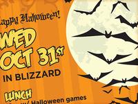 Halloween Poster Work