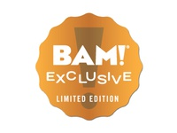 BAM! Exclusive Sticker