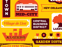 The New Orleans Districts