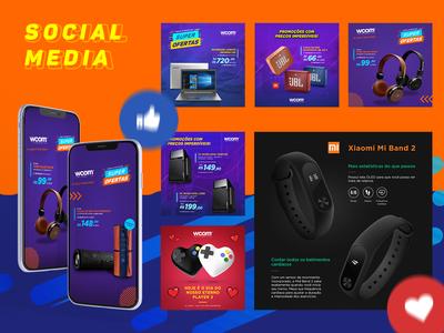 WCOM Informática - Social Media