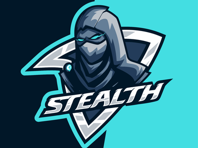 darkness stealth logo design