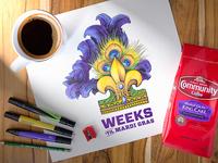 Community Coffee Countdown Illustration