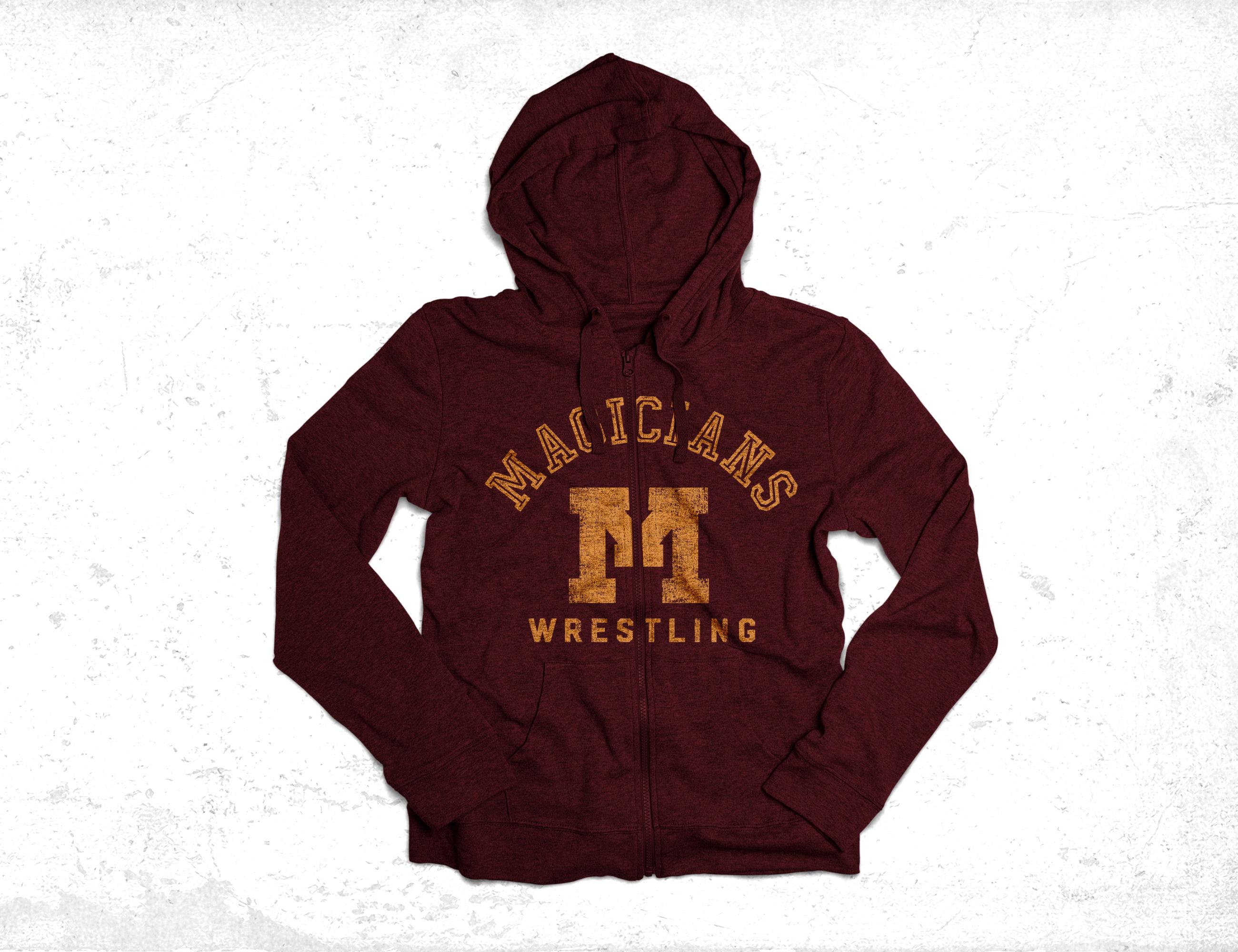 Minot high school hoodie