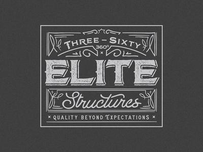 Three Sixty Elite Structures Logo
