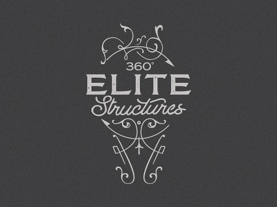 360 Elite Structures mark concept custom identity branding logo
