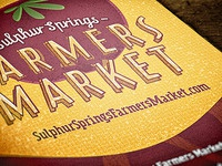 Local Farmers Market Promo