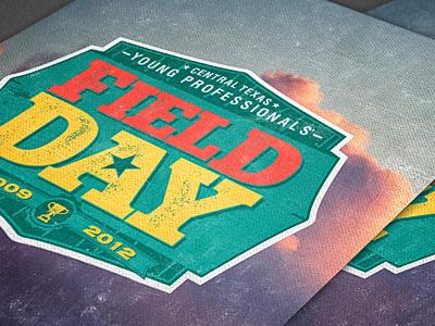 Field Day Cover Design field day design logo book brochure