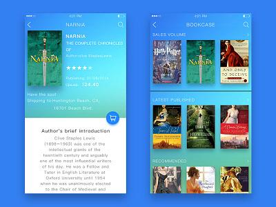 bookcase ui,app