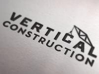 Vertical Construction Logo