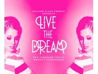Live The Dream 2012 Secondary Cover