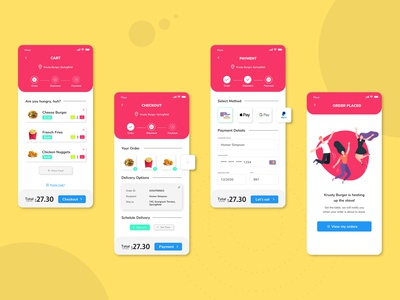 Food Delivery App - Daily UI 002