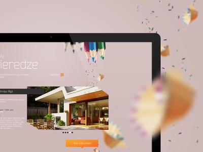 Architect website development