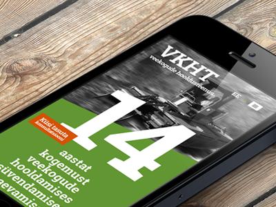 VKHT responsive design and website development