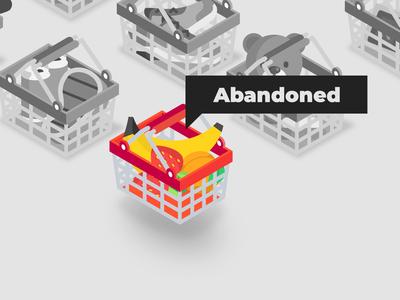Abandoned Cart illustration for Webdesignerdepot
