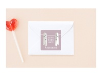 Hanging Buddies stickers for Minted