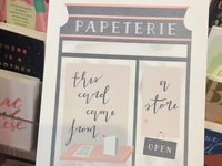Papeterie for Minted