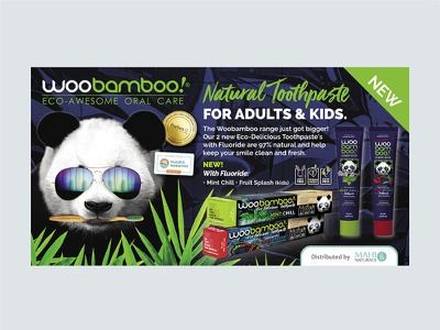 Woobamboo! Advertisement publication design freelance graphic designer logodesign branding design editorial design editorial layout print designer print design freelance designer creative design typography design typography visual design advert design graphic designer graphic design