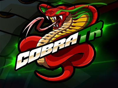 Cobra TR Logo Design by Avoltha mascotlogo logos logoinspiration logodesigns characterillustration illustration cartoonlogo vermit serpent snake cobra